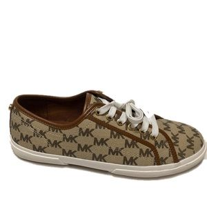 Michael Kors Lace-Up Low-Top Sneaker Size 8